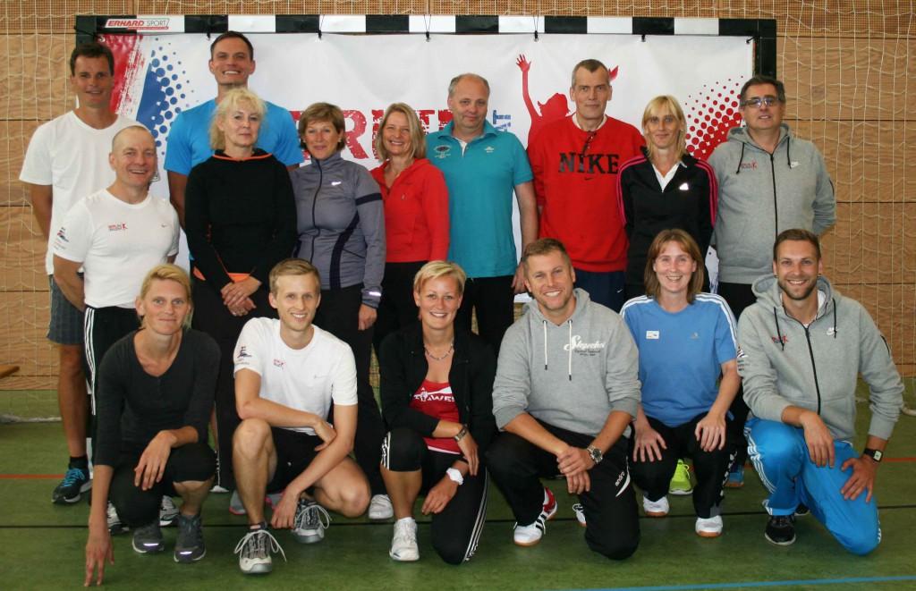 Die Teilnehmer des Workshops am 21. September (Foto: LSB/Schulte)