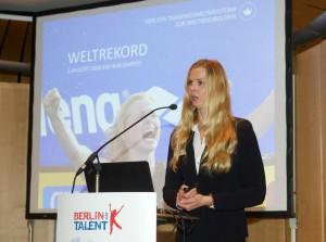 Key Speaker: Doppelolympiasiegerin im Schwimmen, Britta Steffen