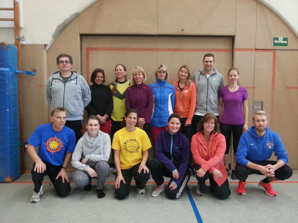 Sportlehrkräfte und Trainer beim Sportlehrerworkshop in Steglitz-Zehlendorf