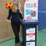 GER, LSB, Berlin hat Talent, Bewegungstonne, Britta Steffen, Kinder