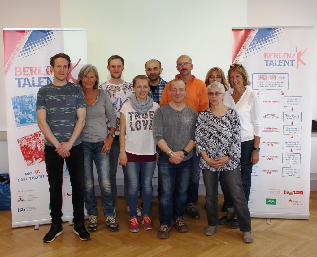 motivierte Sportlehrkräfte aus dem Bezirk Pankow