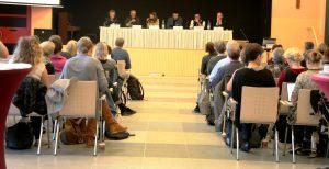 Podiumsdiskussion, Bildquelle: Gesundheit Berlin-Brandenburg
