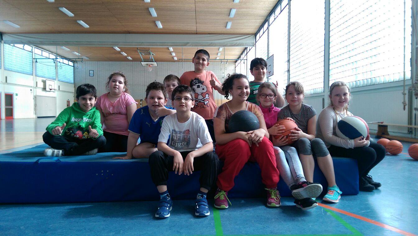 Bewegungsfördergruppe der Grundschule am Amalienhof