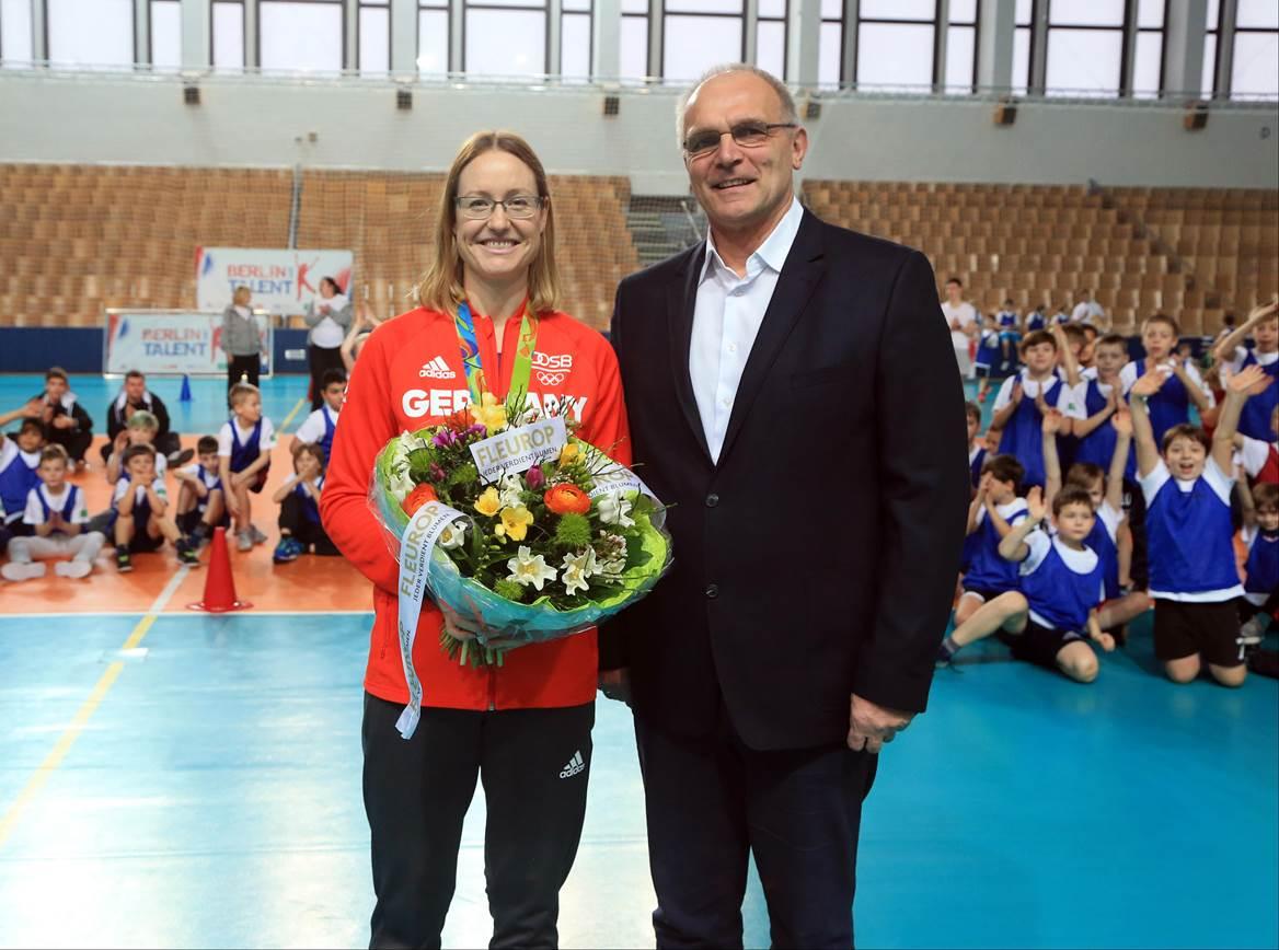 LSB, Berlin hat Talent, Fleurop, Lisa Unruh und Frank Schlizio