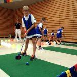Golfstation auf der Talentiade
