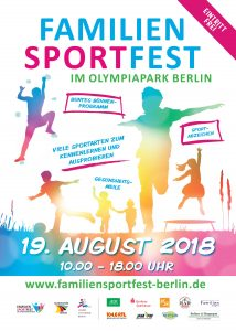 Flyer Familiensportfest 2018
