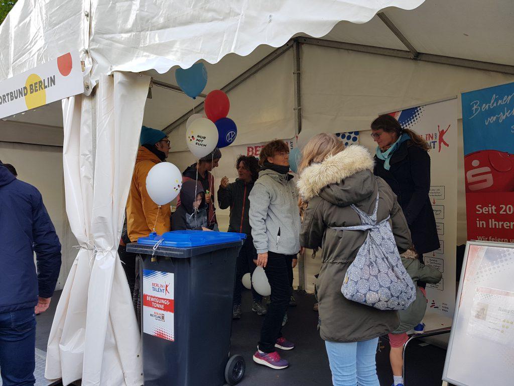 BERLIN HAT TALENT auf dem Bürgerfest zum Tag der Deutschen Einheit