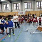 Beim Handball geben die Kinder alles