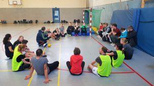 Fortbildung für angehende Sportlehrkräfte