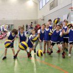 Volleyball bei der Talentiade