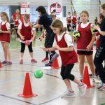 Handball bei der Talentiade