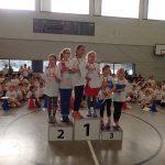 Siegerehrung bei der Talentiade