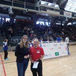 Bezirksstadträtin für Jugend, Familie, Bildung, Sport und Kultur bei der Talentiade