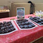 Auch ein kleiner Weihnachtsmarkt präsentierte Leckereien aus der Weihnachtsbäckerei