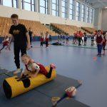Rugby präsentierte sich zum ersten mal auf einer Talentiade - Den Kindern machte es unheimlichen Spaß