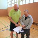 Sportlehrer Lutz Müller im Gespräch mit BHT-Netzwerker Marco Spanehl