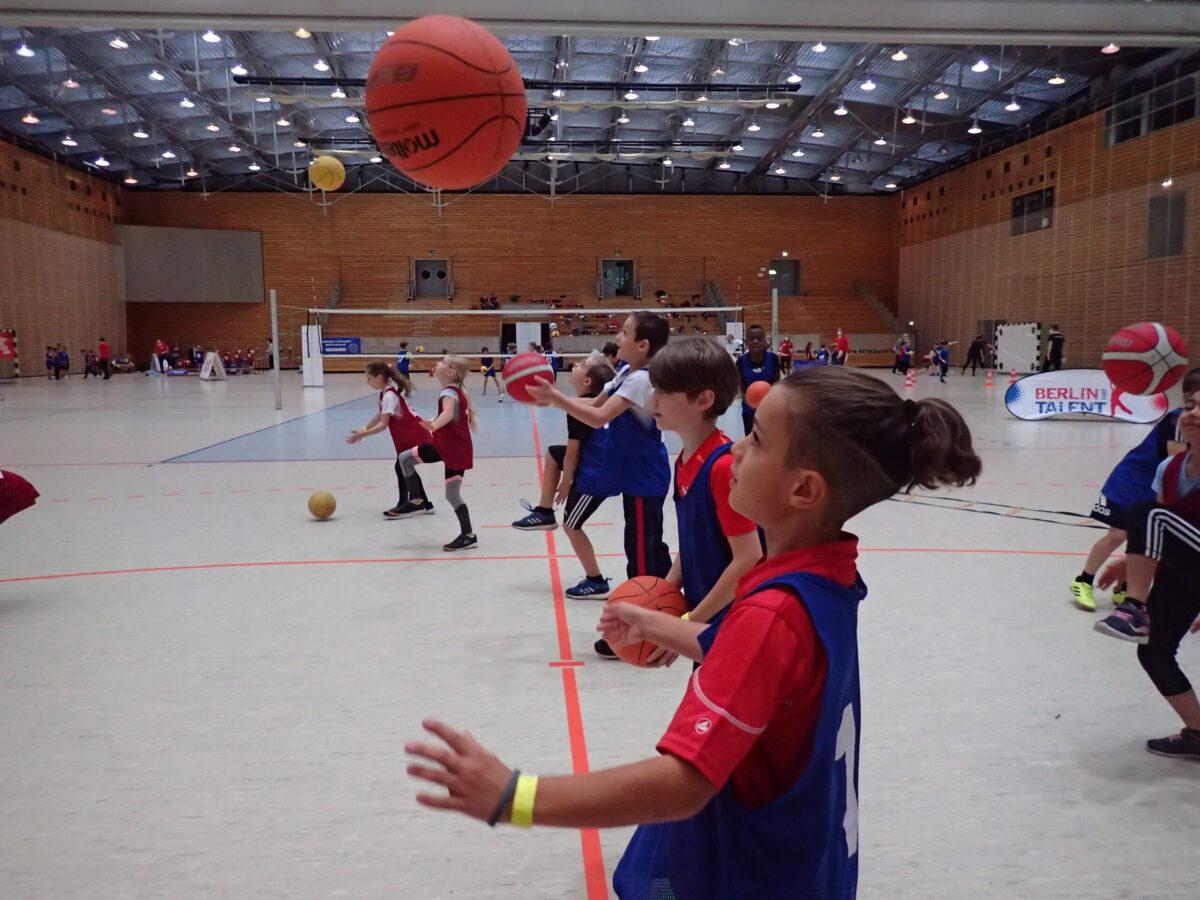 Basketball machte vielen Kindern Spaß